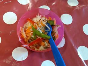 Kids Kitchen Online: Oriental Noodle Salad 8th of September