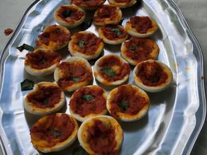 Kids Kitchen Online:  7th of July Mini Pizzas