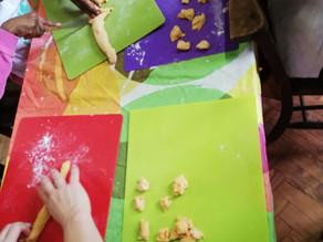 Kids Kitchen Online:  27th of October Pumpkin Gnocchi