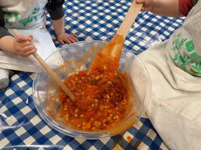 Kids Kitchen Online:  19th of May  Veggie Chilli