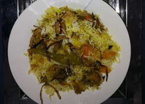 Kids Kitchen Online: Vegetable Biriyani 20th of October