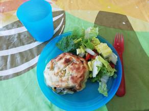 Kids Kitchen Online: Stuffed Potato Cakes 13th of October