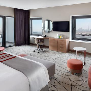 One bedroom suite at Holiday Inn Dubai Festival City