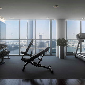 24 hour Fitness Centre at InterContinental Residence Suites