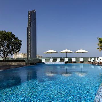 25r metre pool at Crowne Plaza Dubai Festival City