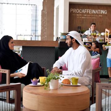 at Holiday Inn Dubai Festival City
