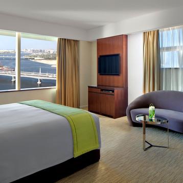 One bedroom suite at Crowne Plaza Dubai Festival City