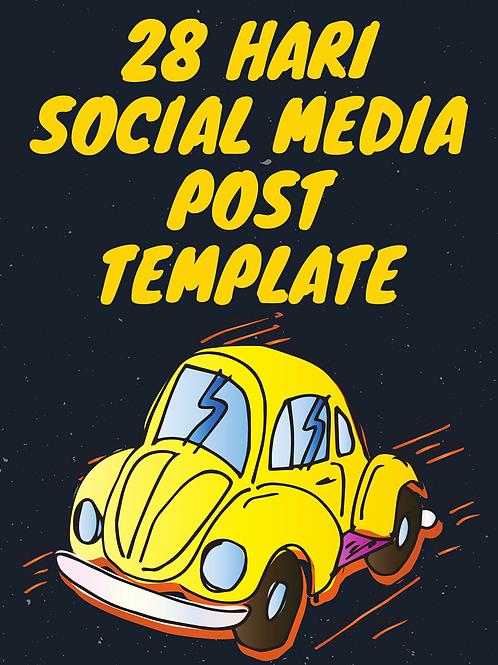 28 Hari Social Media Template