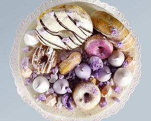 Ciambelle sulla torta