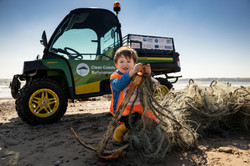Clean Coasts Ballynamona deploys new Beach Cleaning Machine to the Coast