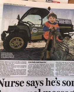 The Irish Daily Mail 14/04/2021