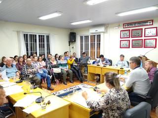 Provocou muita discussão entre os vereadores o Projeto de Lei nº 036/2019
