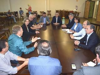 Reunião do Núcleo Macro Sul do movimento ''Juntos pela BR 116''.