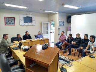 Reunião com representantes da ACIRA
