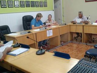 Última Reunião da Comissão representativa no mês de recesso.