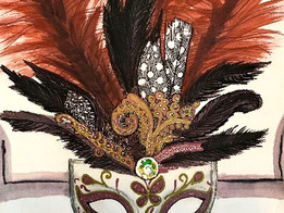 "Art Challenge 2 - ""Venice Carnival Mask"""