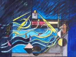 "Art Challenge 7 - ""Abstract of 8"""