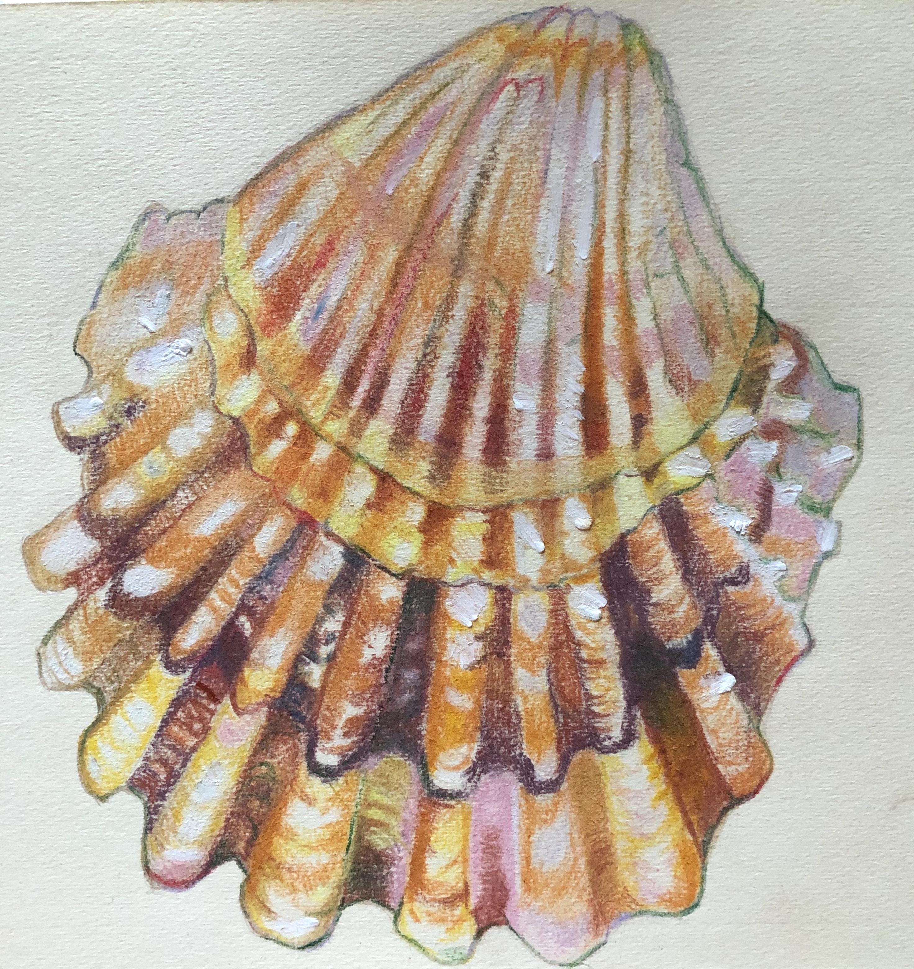 "Art Challenge 3 - ""Shell Lido Venice"""