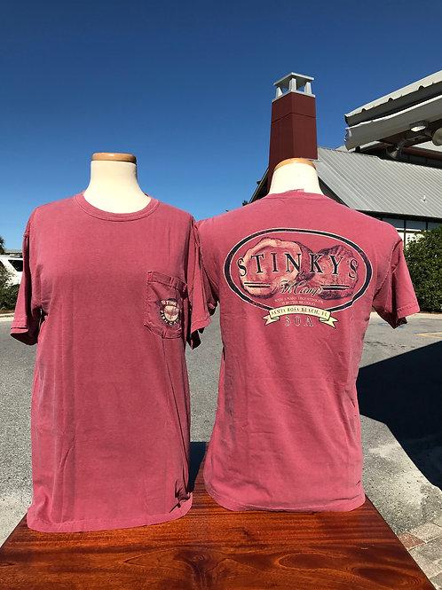"""Oyster"" Short Sleeve Pocket T-Shirt"