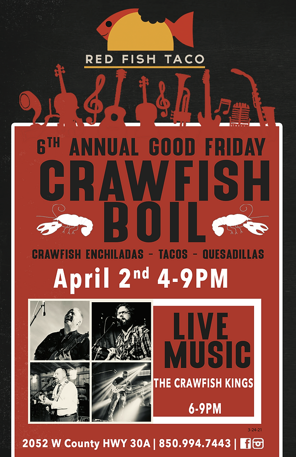 RFT - Crawfish Boil Poster (2) - 11x17 -