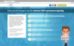 Homepage campagnewebsite Pensioenfonds Metaal & Techniek