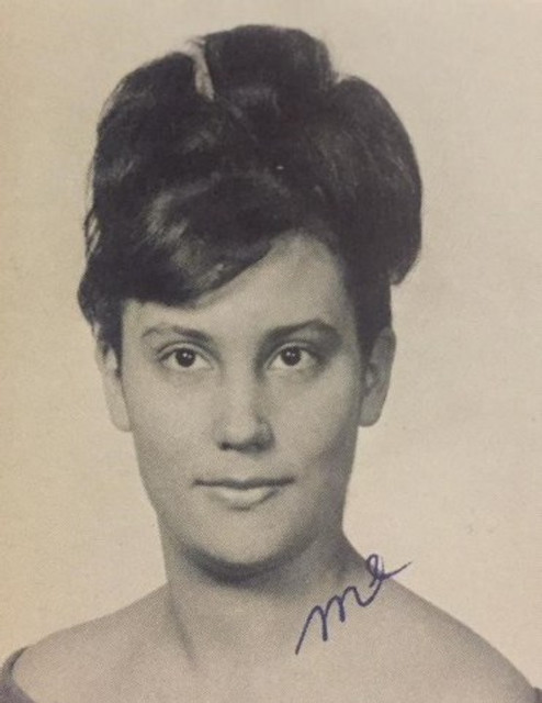 My senior photo in high school, 1965.