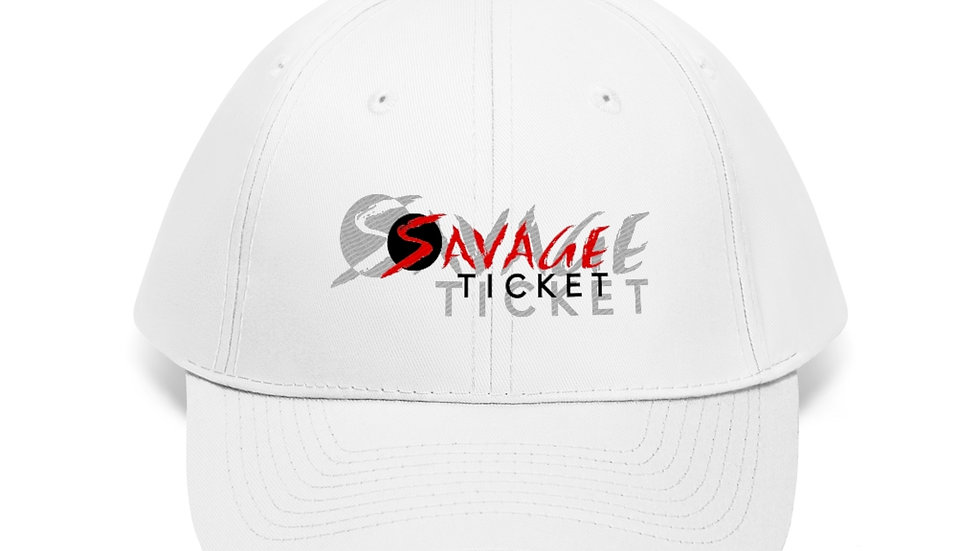 Savage Ticket Red Logo Hat
