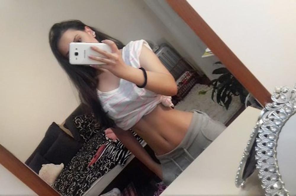 Me during eating disorder, 2014.