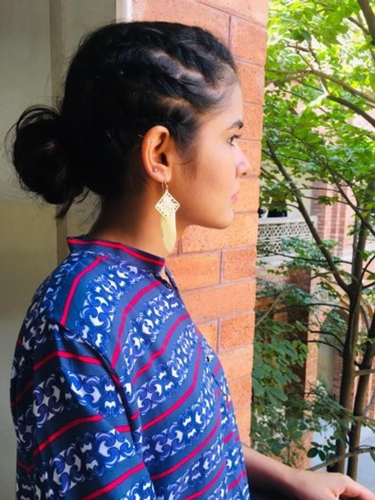 Kainat Khalid, 2018.