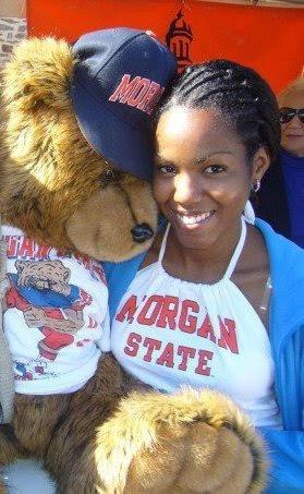 Me during my freshman year at Morgan State University.