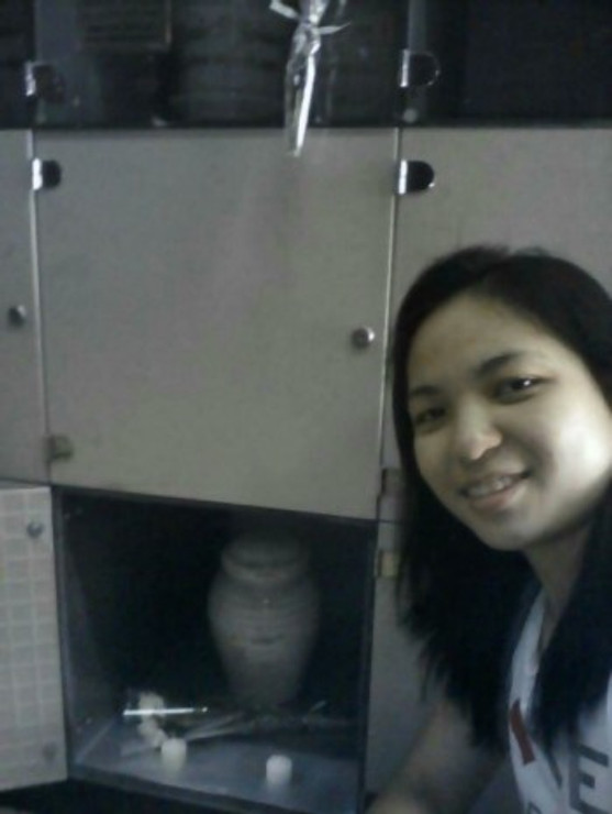 The day when I buried my mom in the columbarium before leaving the Philippines.