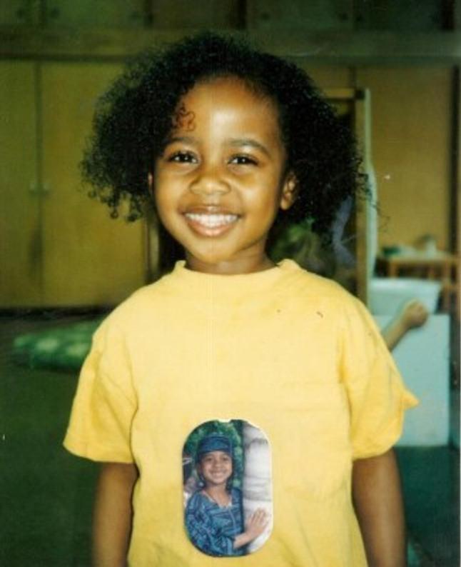 Me around age three or four.