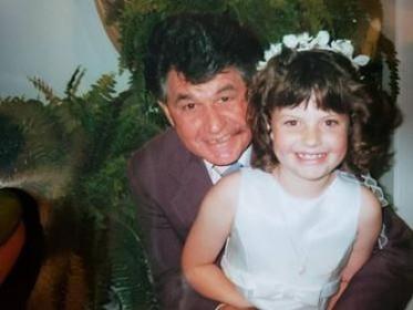 Grandpa and me, 2000.