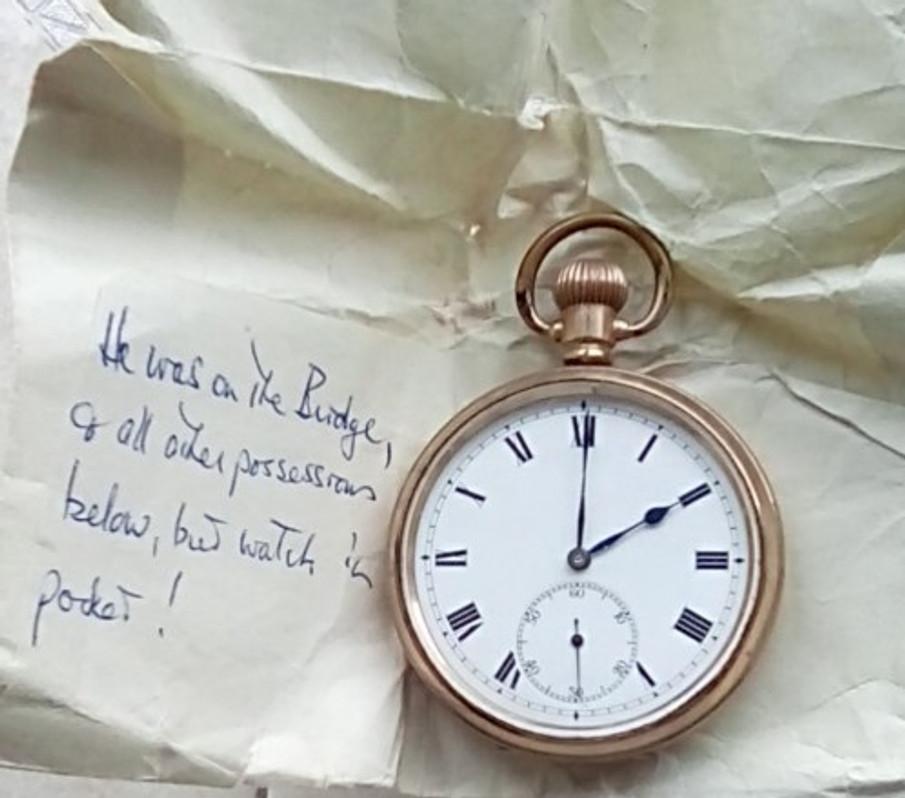 My father's pocket watch.