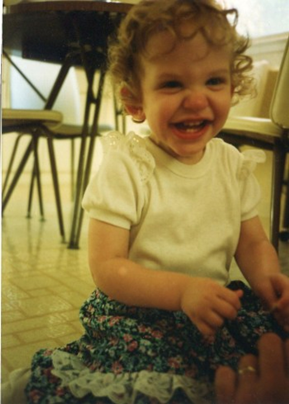 I was a happy baby!
