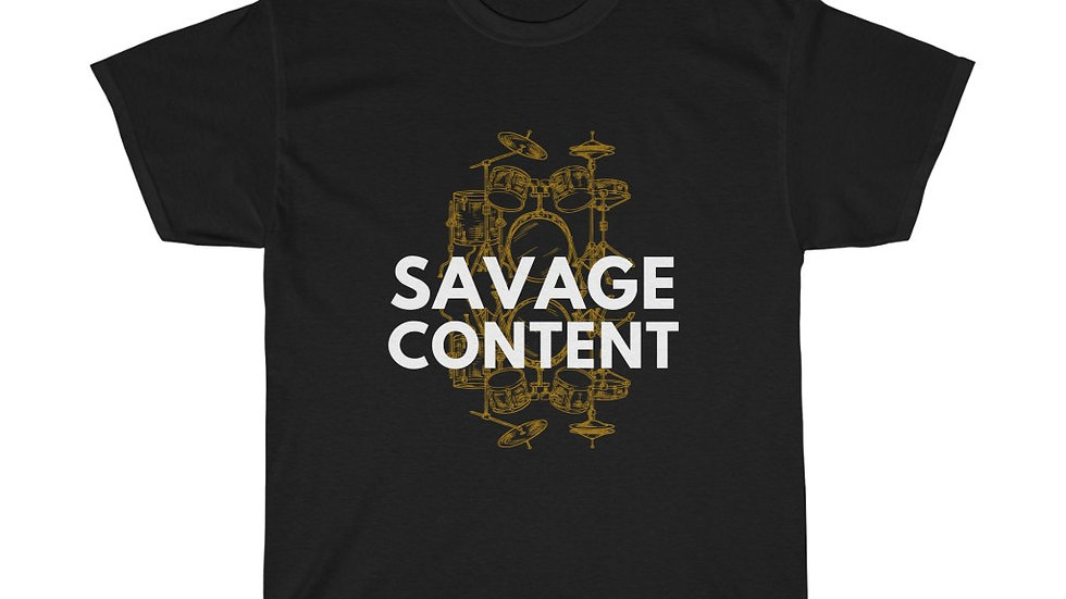 Savage Drums - Heavy Cotton Tee