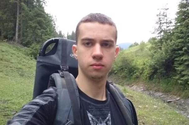 Me hiking, 2018.