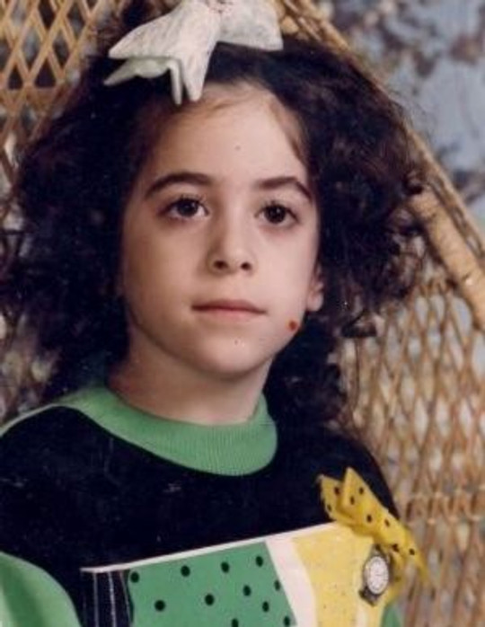 Me as a young girl.