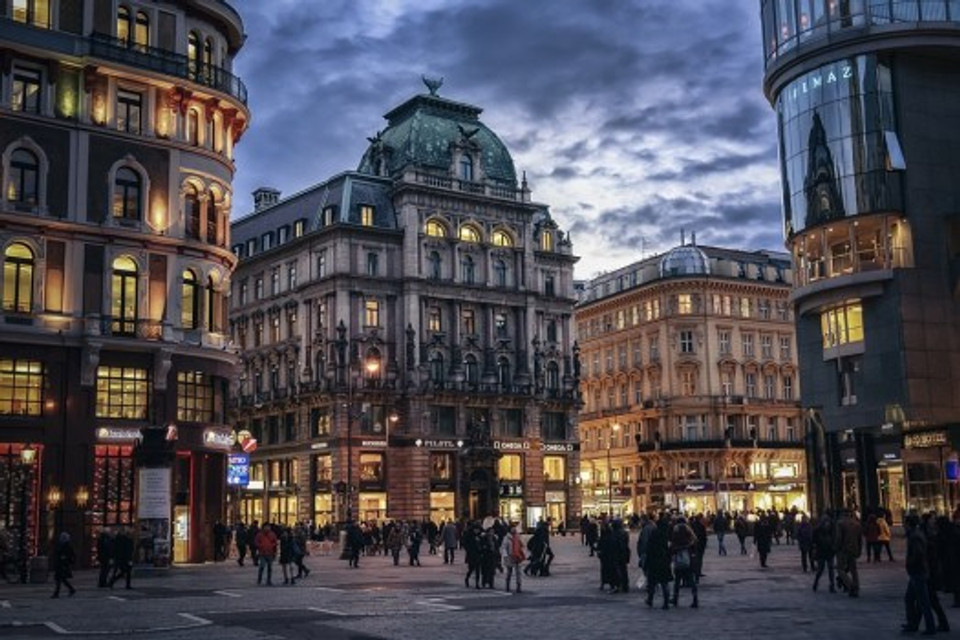 Vienna, Austria   image courtesy of Pixabay.