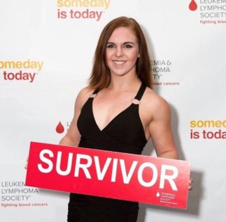 Nicole Evans, cancer survivor.