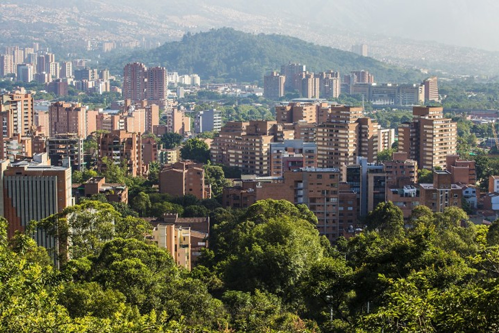 Medellin, Colombia where our foundation was based | Photo credit: Pixabay