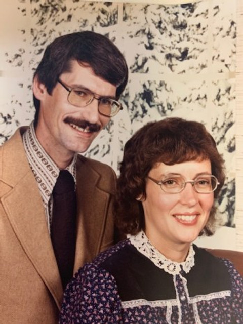 Our engagement photo, 1972.