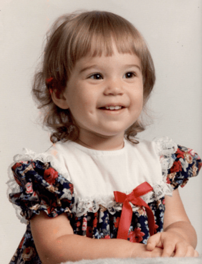 Me at age two.