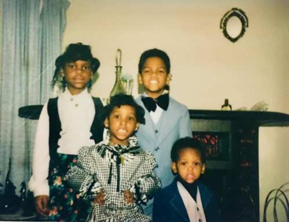 My four precious children.