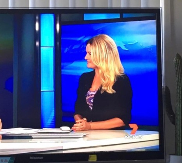 Live on 7 News Australia Against Bullying, March 2016.