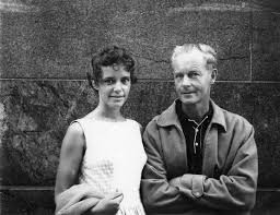 With Jack Cope, 1962.