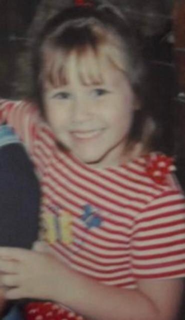 Me as a little girl.