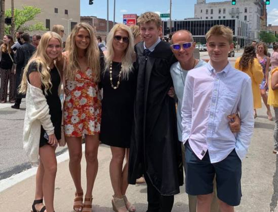 Todd and his beautiful family.