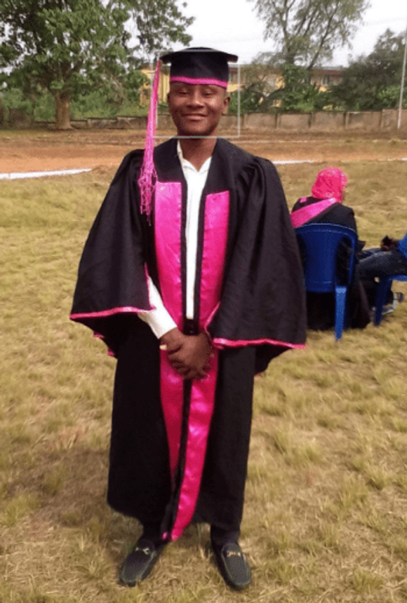 Graduation day, 2014—breathing a sigh of relief!
