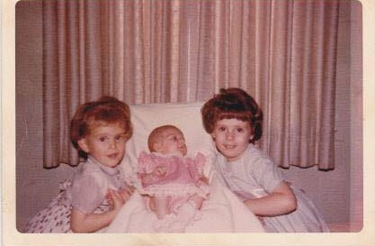 My sisters and me (I'm on the far right).